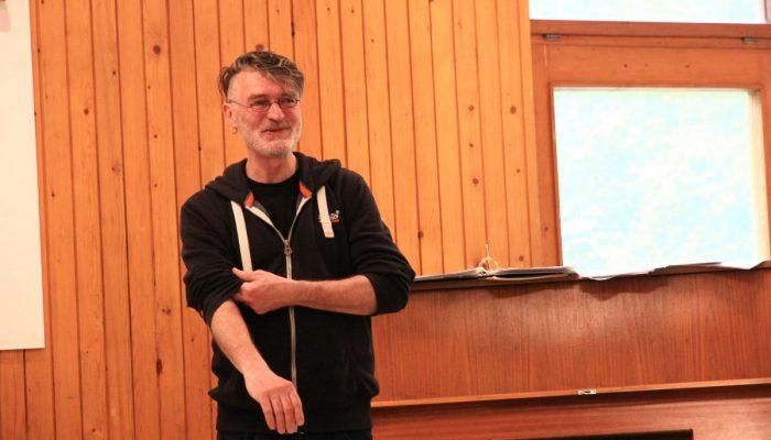 Thomas Noll - bei der Probenarbeit