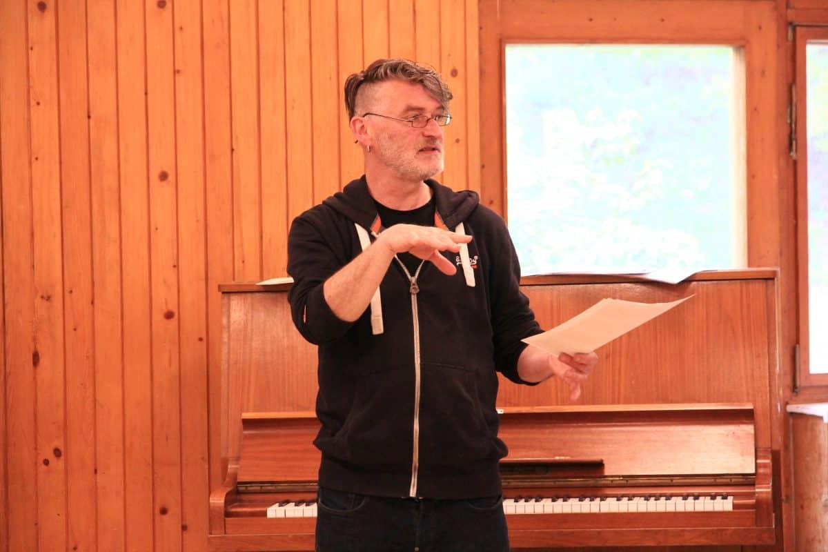 Thomas Noll - Probenarbeit canta:re